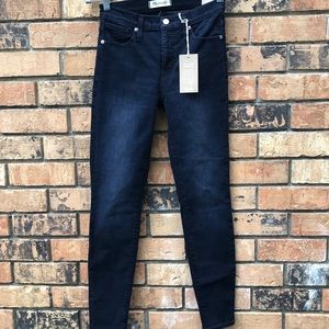 "New Madewell 9"" Mid Rise Skinny Jeans"